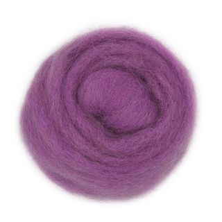 Combed Wool Lilac 10g