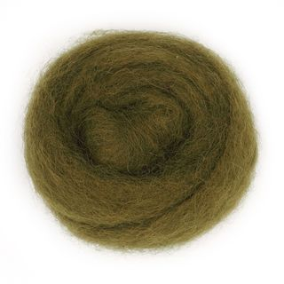 Combed Wool Olive 10g