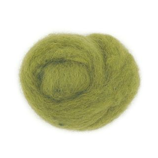 Combed Wool Lime 10g