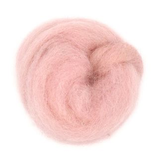 Combed Wool Light Pink 10g