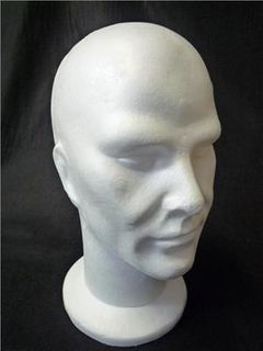 Male Mannequin Head 320mm