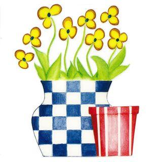 Dec/Transfers Flowers/Ccheck Vase