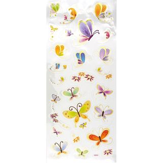 Sticker Butterflies Multi