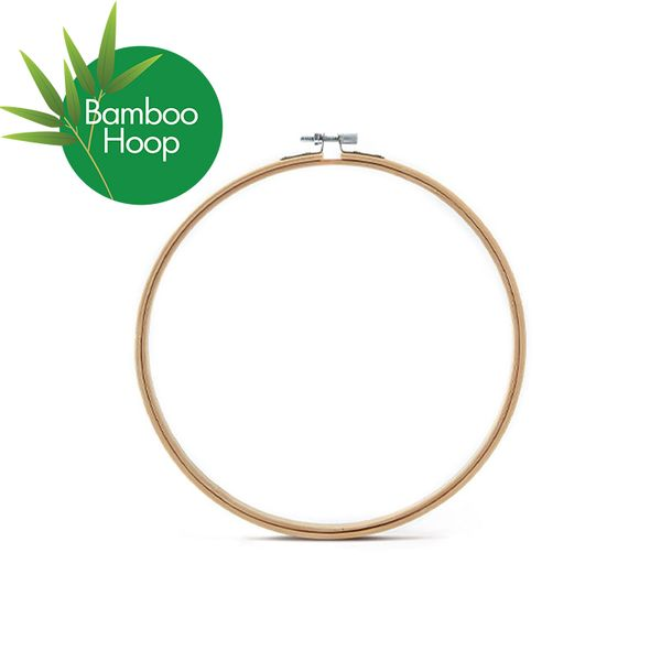 Embroidery Hoop Bamboo Round 75mm 3inch