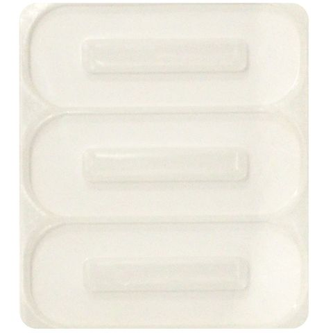 RESIN SILICON MOULD HAIR CLIP SQUARE