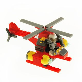 CITY FIRE WATERJET HELICOPTER BLOCK 88PC