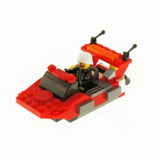 CITY FIRE PATROL BOAT RED - 91PC