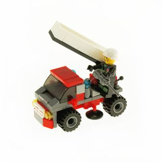 CITY FIRE LADDER TRUCK RED - 90PC
