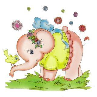 Dec/Transfers Nursery Elephant