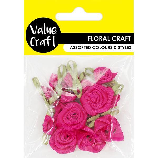 Flower Hot Pink 16Pcs