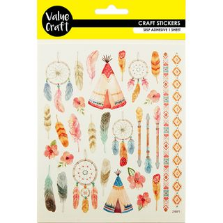 Colour Stickers - Indian 1Pc