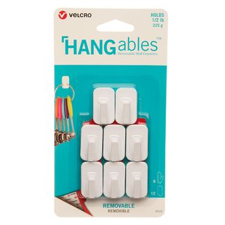 Velcro Hangables Removable Hooks 8Pcs