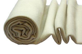 Nursery Blanketing Felt 100%Wool Natural