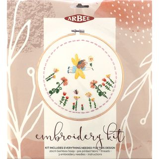 Embroidery Kit Flower Fairy