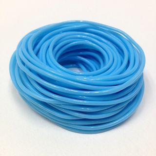 Plastic Tubing 1.6x1.8mm Sky Blue 100m