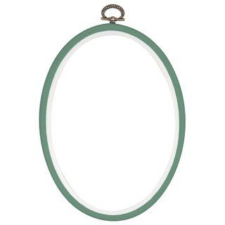 Flexi Hoops Oval 125x175mm Fern