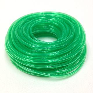 Plastic Tubing 1.6x1.8mm Green 100m