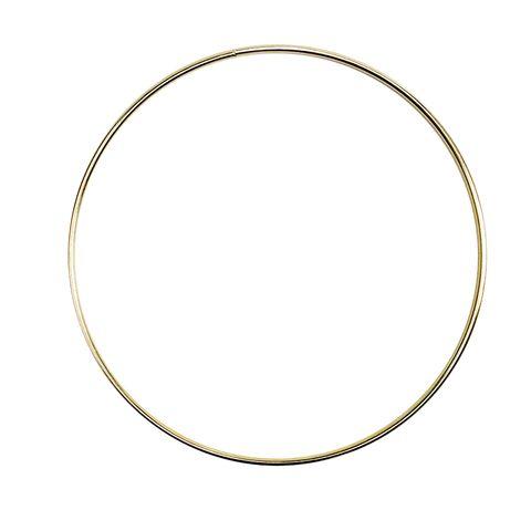 Ring Mac Steel Ring 200mm Gold (8 Inch)