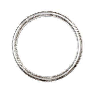 Ring Mac 12mm Silver Pkt 6