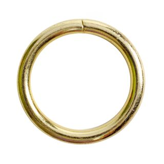 Ring Mac 25mm Gold Pkt 6