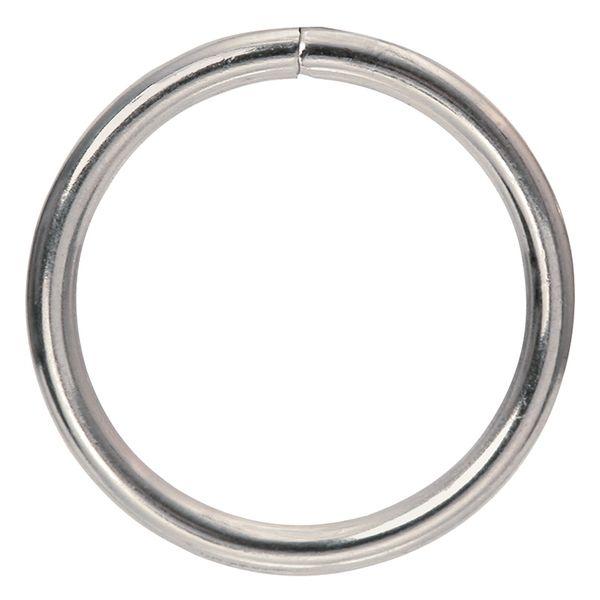 Ring Mac 38mm Silver Pkt 4