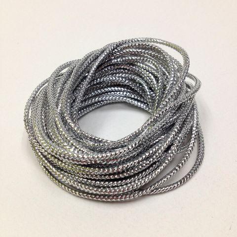 Metallic Cord 16ply Silver 5m