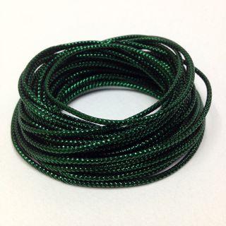 Metallic Cord 8ply Green 5m