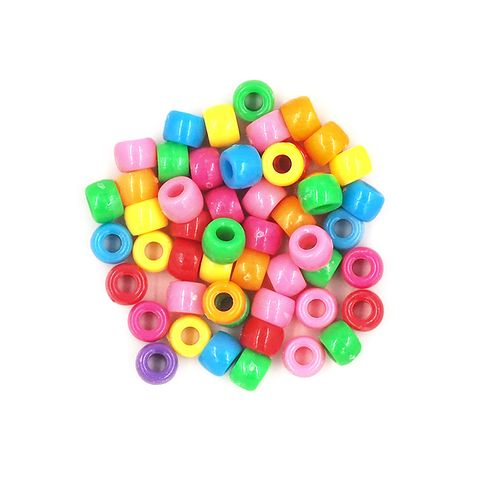 Pony Beads 6mm Assorted 60G