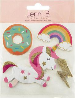 Jenni B Die Cuts Unicorn Magic 20Pcs