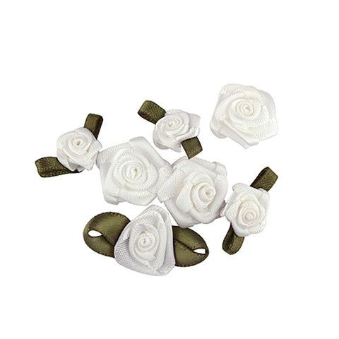 FLOWER WHITE 16PCS