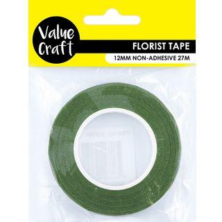 Craft Florist Tape 12mm Light Green 27M