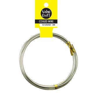 Craft Wire 12G Silver 3M