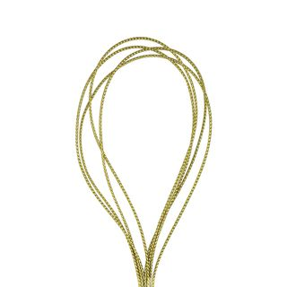 Cord Nylon Metallic 1mm Gold 16m