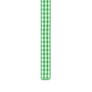 Ribbon 10mm Gingham Green 3m
