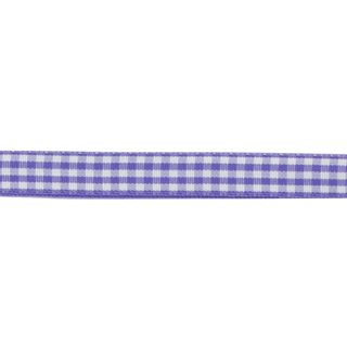 Ribbon 10mm Gingham Lavender 3m
