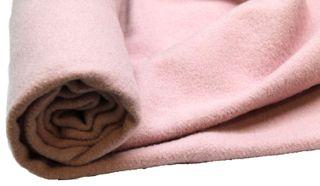 Nursery Blanketing Felt 100% Wool Pink