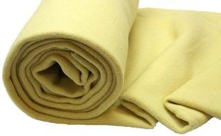 Nursery Blanketing Felt 100% Wool Lemon