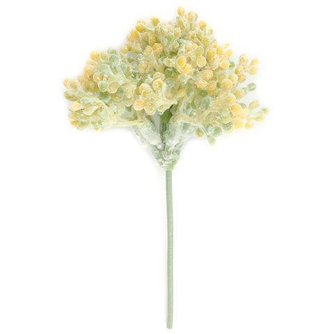 Flower Natural Yellow Stamen 1 Bch