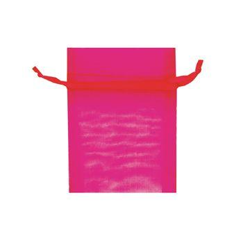 Organza Bag Mini 10X7.5cm Hot Pink 1Pc