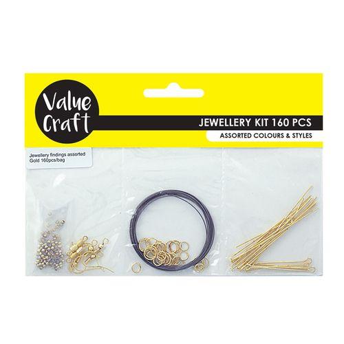 Jewellery Triple Pack Starter Kit Gold