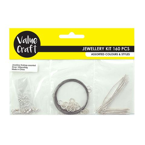 Jewellery Triple Pack Starter Kit Silver
