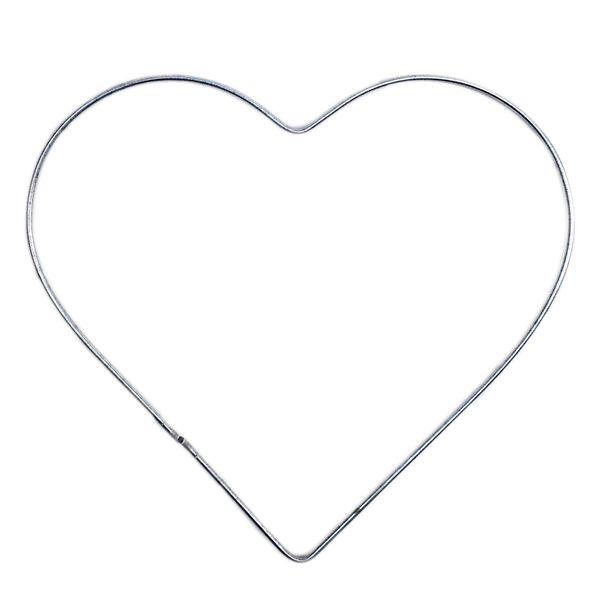 Wire Hearts 100mm (4 Inch)