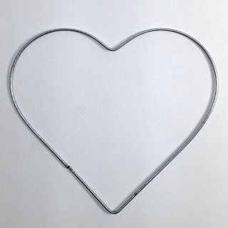 Wire Hearts 200mm (8 Inch)