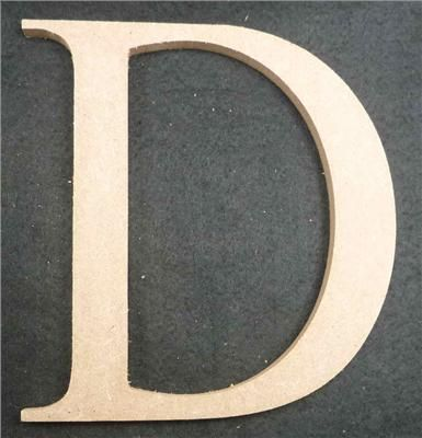 Wooden Alphabet Letter Medium D