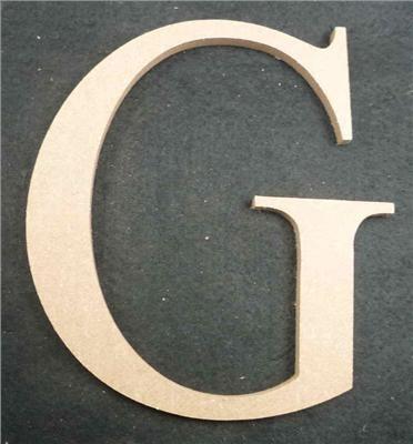 Wooden Alphabet Letter Medium G