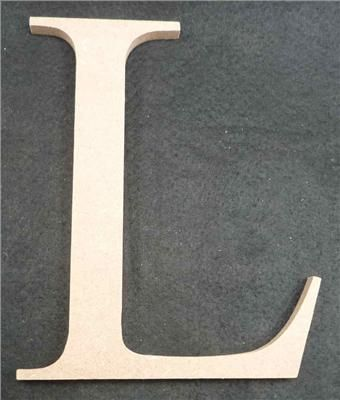 Wooden Alphabet Letter Medium L