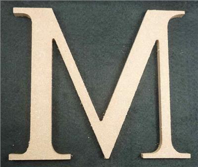 Wooden Alphabet Letter Medium M