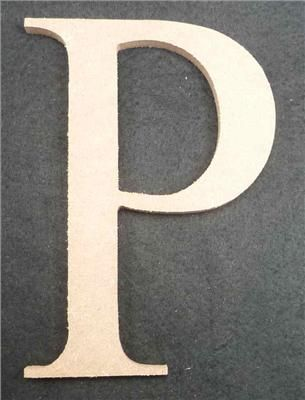 Wooden Alphabet Letter Medium P