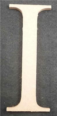 Wooden Alphabet Letter Medium I