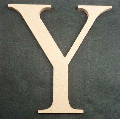 Wooden Alphabet Letter Medium Y